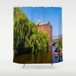 Historic Flour Mill. Shower Curtain