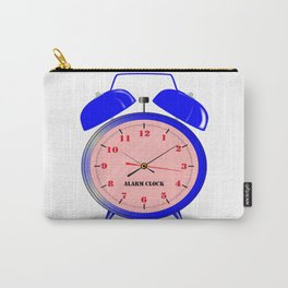 Oval Alarm Clock Carry-All Pouch