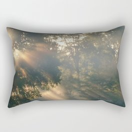 """ Heaven Shining "" Rectangular Pillow"