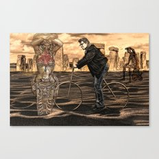 is it art? . . . or can I clean it up? Canvas Print