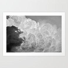 Looming Art Print