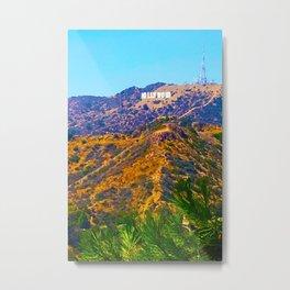 @Hollywood Metal Print