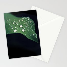 Water drops  Stationery Cards