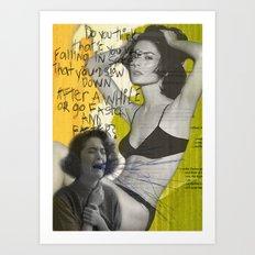 Donna Hayward Art Print