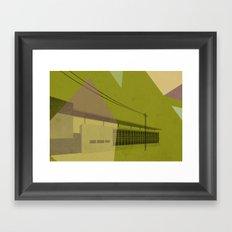 St. Jamestown Branch Framed Art Print
