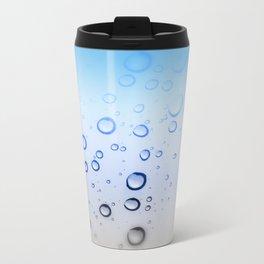 Waterdrops Metal Travel Mug