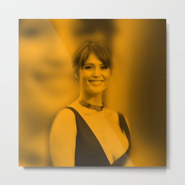 Gemma Arterton - Celebrity Metal Print