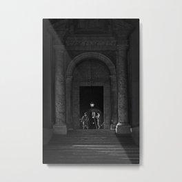 Swiss Guards - Vatican City Metal Print
