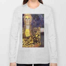 "Gustav Klimt ""Pallas Athene"" Long Sleeve T-shirt"