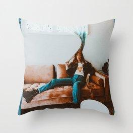 Discooo Throw Pillow