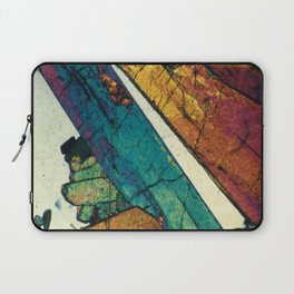 Epidote in Quartz Laptop Sleeve