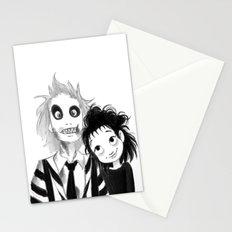 Beetle Juice fan art Stationery Cards