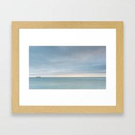 Lonely Journey Framed Art Print