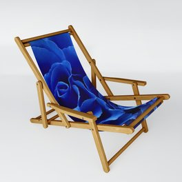 Blue Roses Flowers Plant Romance Sling Chair