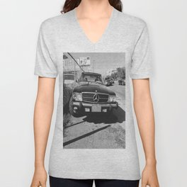 Parking Lot Benz Unisex V-Neck