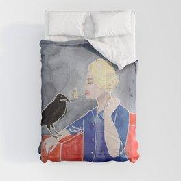 Tippi Hedren & a Crow Comforters