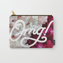 OMG! (Fleurs) Carry-All Pouch