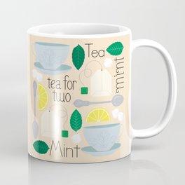 Mint Tea for Two Coffee Mug