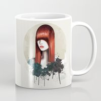 redhead Mugs featuring The Redhead by Nettsch