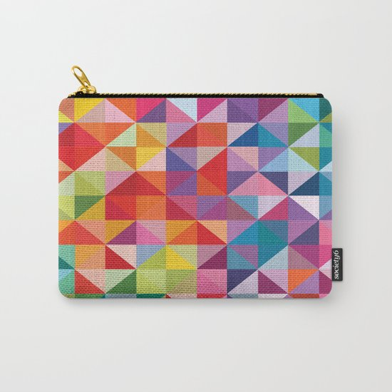 Geometric World No. 1 Carry-All Pouch