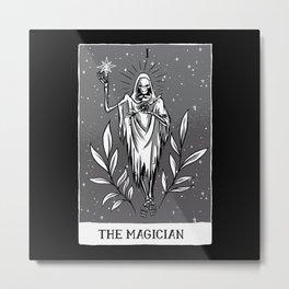 The Magician Tarot Card Design Metal Print