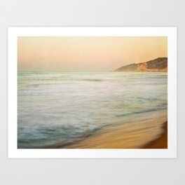Golden Sunrise Art Print