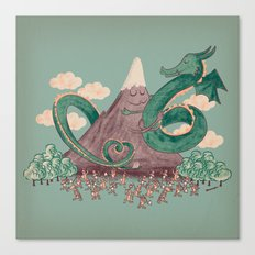 The Not-So-Lonely Mountain Canvas Print