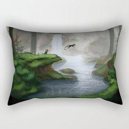 Masked creatures Rectangular Pillow