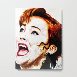Delia Deetz Metal Print