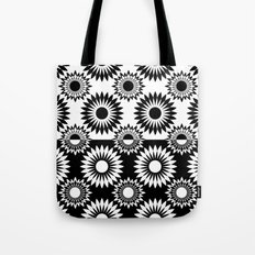Black and white abstract pattern . 7 Tote Bag