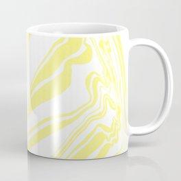 Yellow Marble Ink Watercolor Coffee Mug