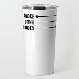 alcohol reading non-smoker e-cigarette gift Travel Mug