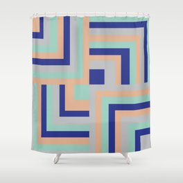 Four Squared Shower Curtain