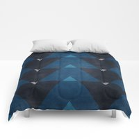 Comforters featuring Greece Arrow Hues by Diego Tirigall