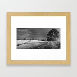 Mendip View Framed Art Print
