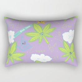 Canna Bae Dab Rectangular Pillow