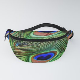 Peacock feathers | Plumes de Paon Fanny Pack