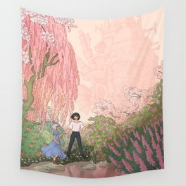 Howls Moving Caslte Wall Tapestry