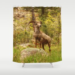 His Teritory Shower Curtain