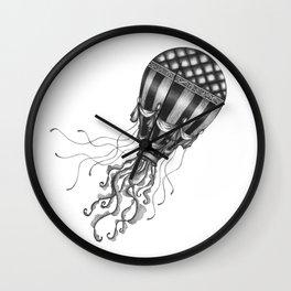 Jellyfish Air Balloon Wall Clock