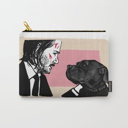 John Wick and his Very Good Boy Carry-All Pouch