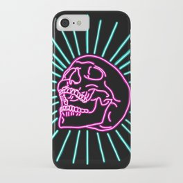 Pink Laughing Skull iPhone Case