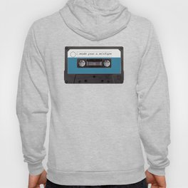 I made you a mixtape | Mix Tape Graphic Design Hoody