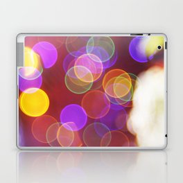 Bright and Blurred City Lights Laptop & iPad Skin