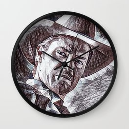 Justified - Timothy Olyphant Wall Clock