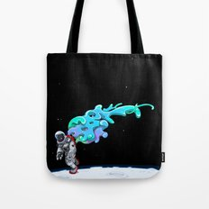 Moonwalk Tote Bag