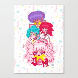 fanart Jem and the Holograms Canvas Print