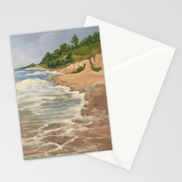 Lake Michigan Summer Stationery Cards