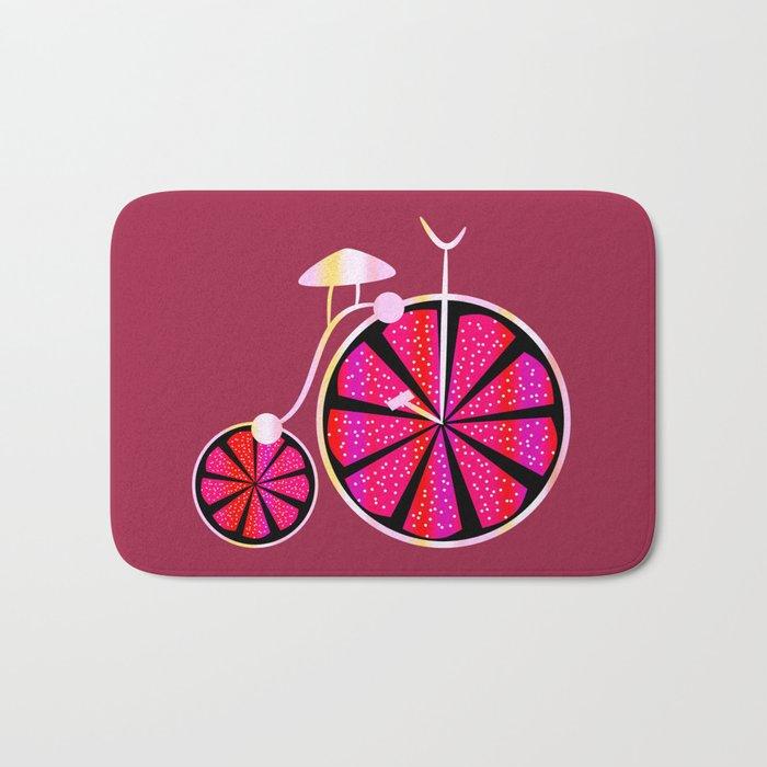 Fruity ride Bath Mat