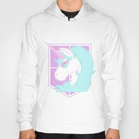 military Hoodies featuring Pastel Military Police by CLUB GALAXY